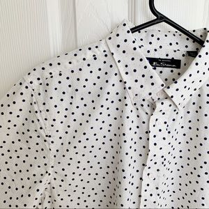 Ben Sherman Shirts - NWOT Ben Sherman Polka Dot Button Down